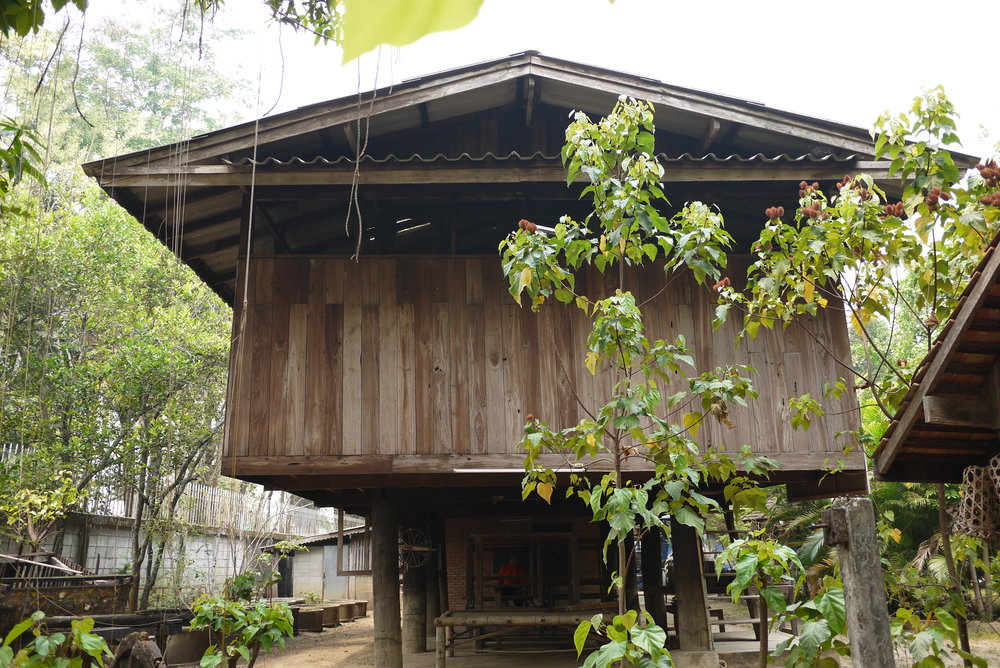 Northern Thai-style structure used as a production facility