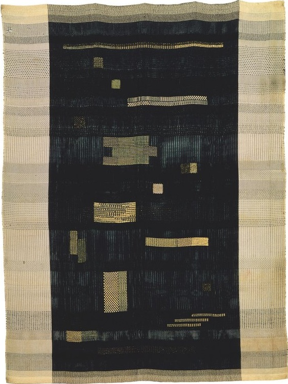 Anni Albers. Ancient Writing, 1936. 149.9 × 111.1 cm. Rayon, linen, cotton and jute. Smithsonian American Art Museum