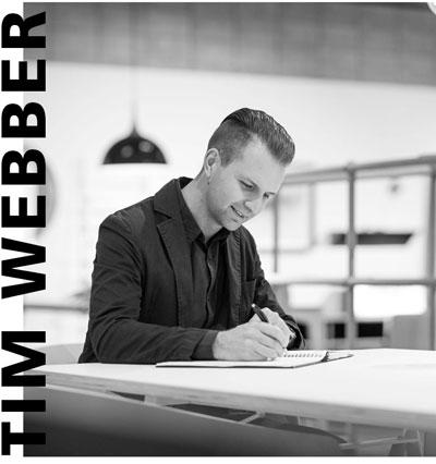Miko Design's designers - Tim Webber of Tim Webber Design