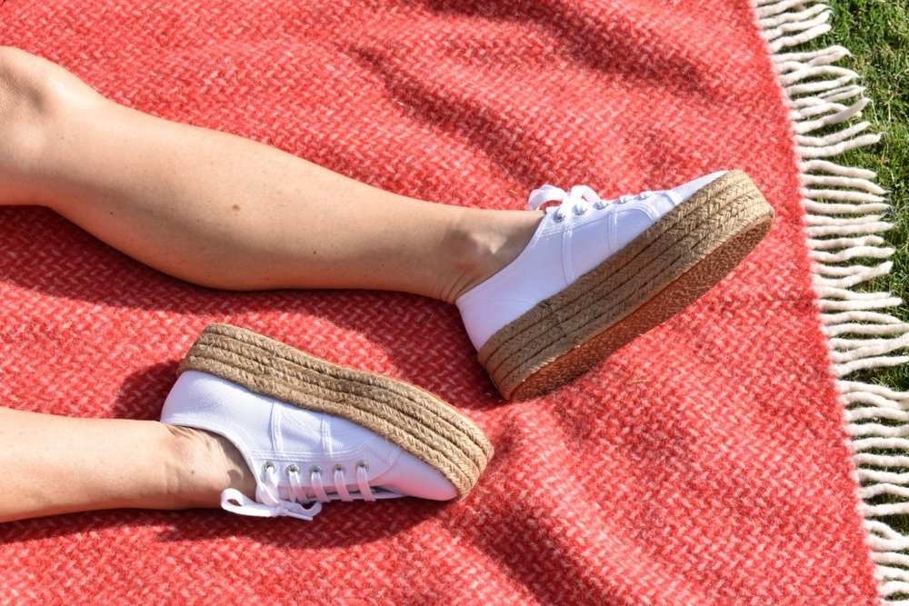Copy of Copy of Sustainable styling White Espadrilles