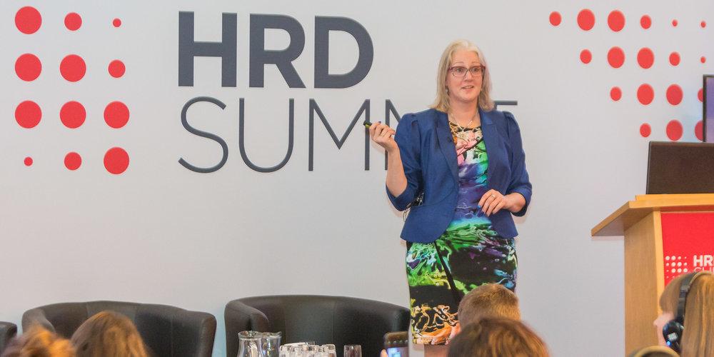 Inspirational speaker - Jude inspires behavioural change in her talks