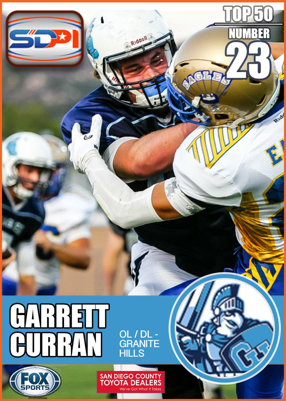 - Garrett is an upper echelon run-blocker who makes running backs' jobs much easier with the vast holes he creates. This 6'5