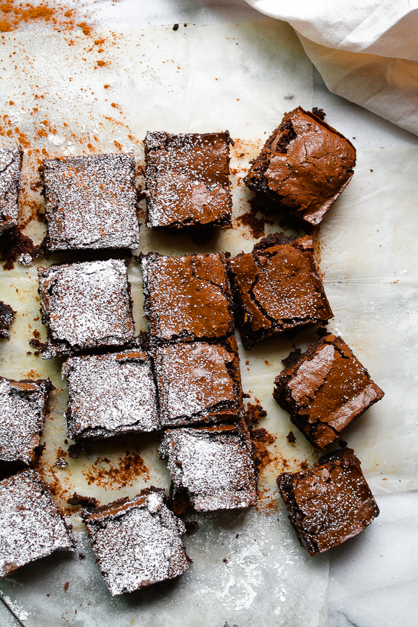 Amalia's Ancho Chile Brownies. Lord. Have. Mercy.