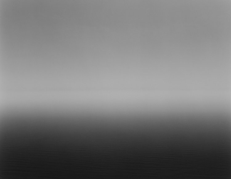 Ligurian Sea, Saviore, 1982 (from www.sugimotohiroshi.com)