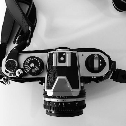 Nikon FM2 top plate