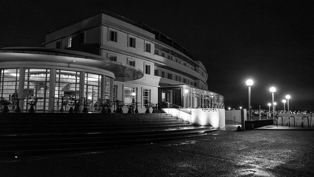 The Midland Hotel, Morecambe Bay, Fuji X70