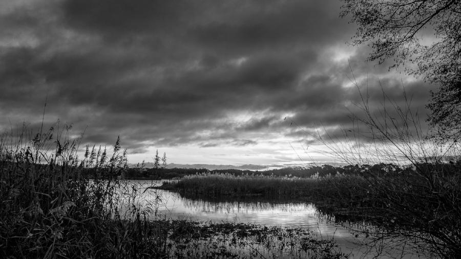 Fleet Pond, Hampshire, UK. Fuji X70