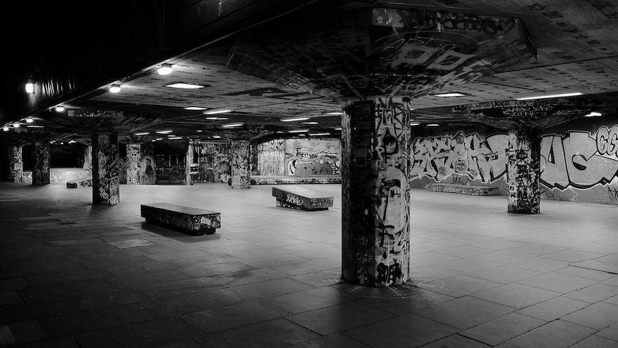 Fuji X70 - Southbank Skatepark