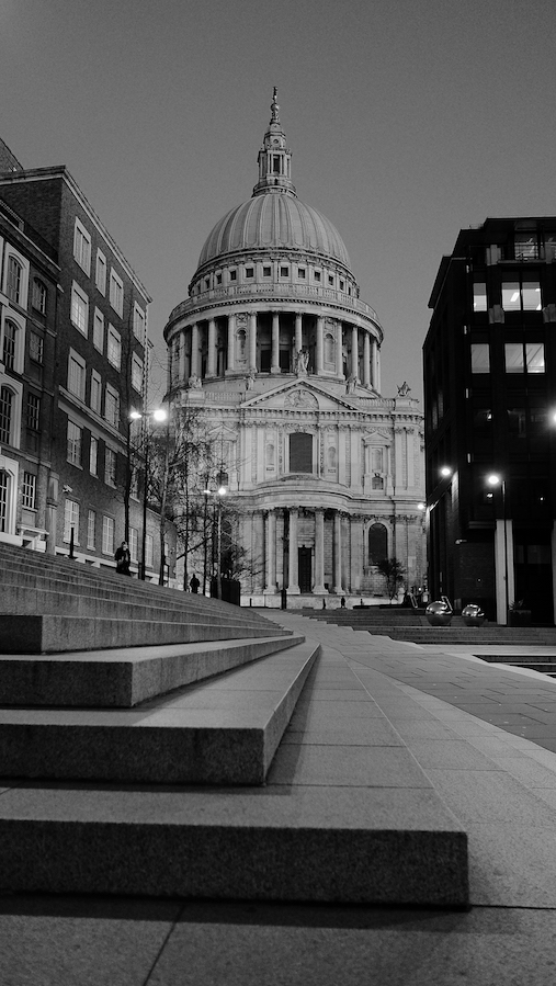 Fuji X70 - St Paul's Cathedral, London