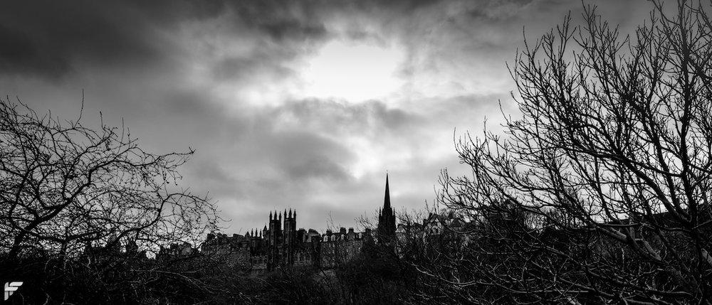 Edinburgh Old Town - Fuji X70