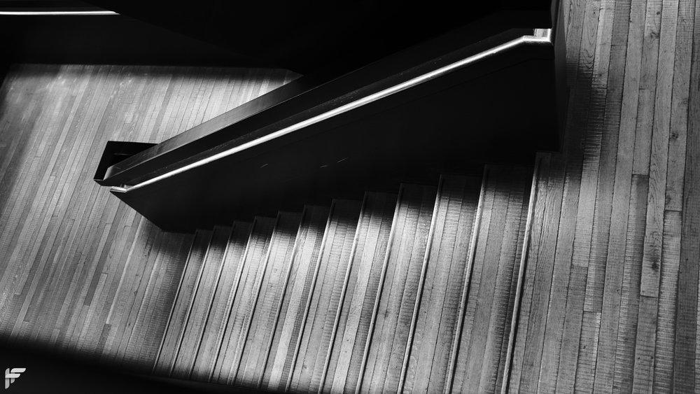 Staircase, Tate Modern - Fuji X100F