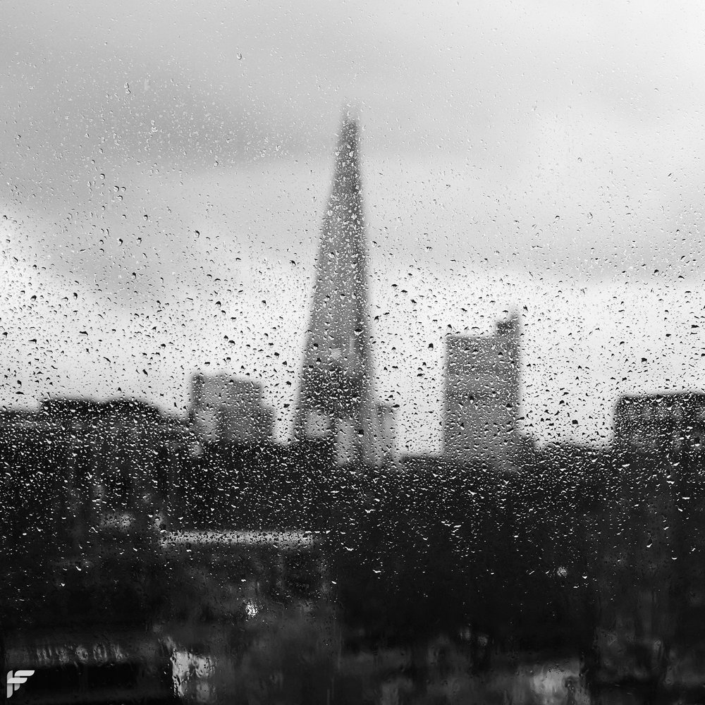 The Shard from the Tate Modern - Fuji X100F