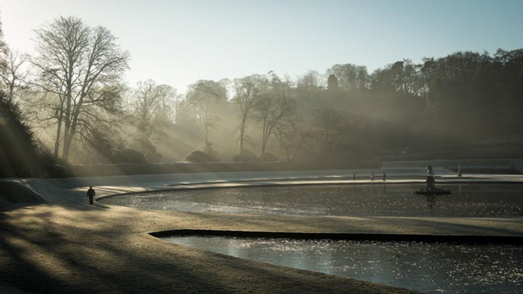 Studley Royal Water Garden by Robert Steemson