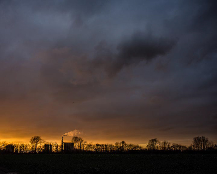 Teesside Evening by John Ash