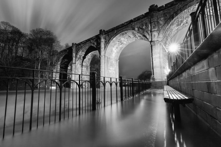 Knaresborough Viaduct by Mike Morley