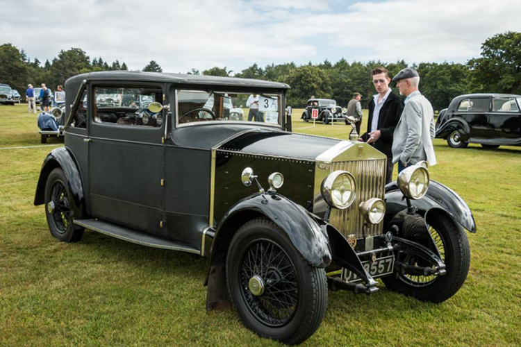 Rolls Royce Enthusiasts Rally by Robert Steemson