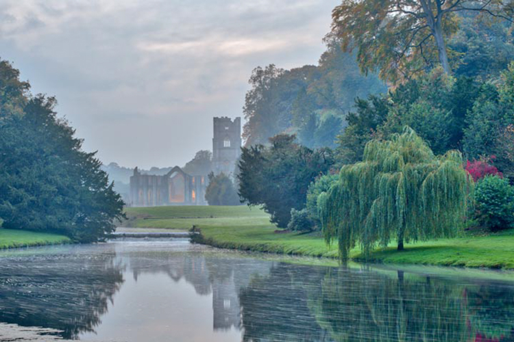 Fountains Abbey by Mike Morley