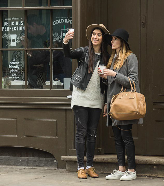 Coffee Perfection and Selfie Obsession by Chris Anderson