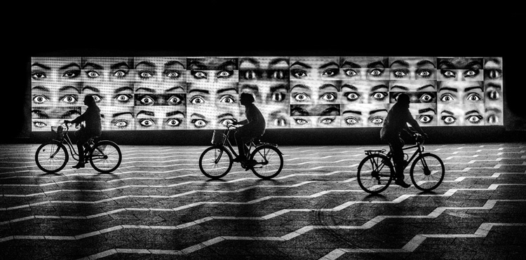 Eyes and Bikes by Graham Roberts