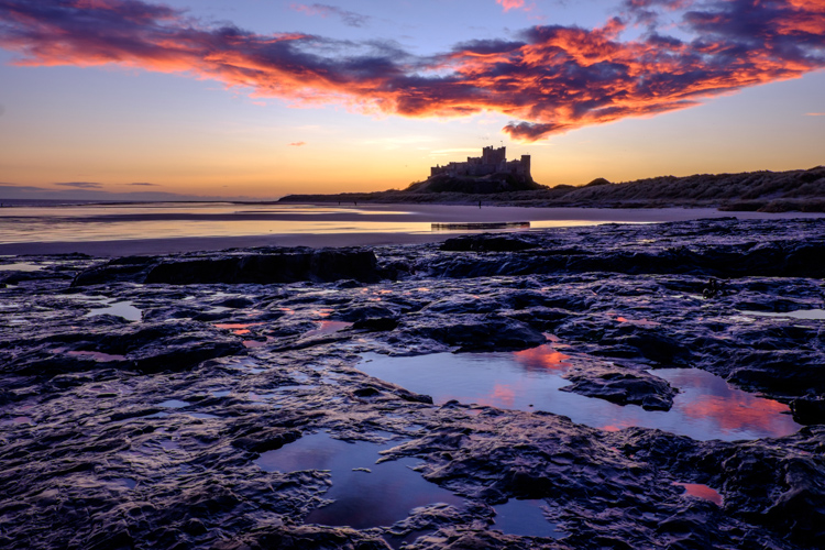 New Year, Bamburgh