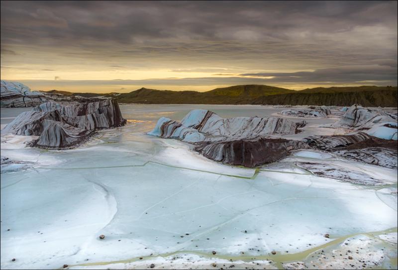 Svinafellsjokull Lagoon, Iceland