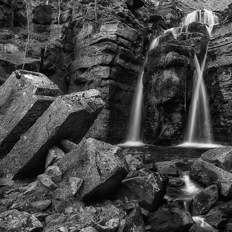 Swinner Gill Middle Falls