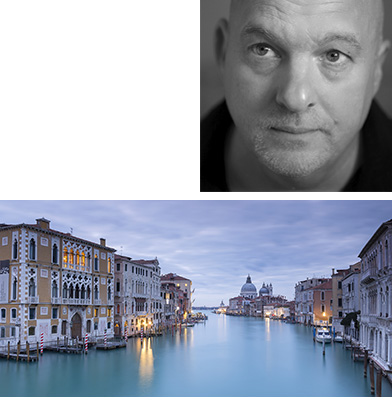 Chris Ceaser - 10 December 2018(York)Venice: In Pictures and WordsThis talk takes you from the foundation of early Venice, to the creation, and demise of an empire; based on around 50 of Chris Ceaser's images that endeavour to capture the heart and soul of this magical place.Venice is a photographer's dream. Old palaces, architectural delights, narrow canals and bridges are everywhere in this city that time forgot. Nothing much has changed over the centuries, the modern Venetians effectively live an ancient Venice that is under constant attack from decay, the sea and a new threat, tourism. So how did this small series of Islands in the Adriatic become the Mediterranean's most powerful force in the 1300's? Where did they find their wealth? And how did it all end? This talk attempts to illustrate this in words and images. The Venice we see today may look just like it did 700 years ago but many Venetians have left and it is struggling to find a way forward as a city.Born in Rotherham, Chris has always lived in the Yorkshire region and currently lives in York. Chris Ceaser is a highly successful commercial photographer, and has his own gallery in Micklegate. In June 2010 he became an Associate of the Royal Photographic Society. He is an award winning photographer and was recently awarded the Antiquity Archaeological Photographic Prize.Inspired by the region's exhilarating natural views; from the flower-strewn meadows and stone built barns of the Yorkshire Dales & the heather filled North York Moors, to the cliff laden beauty of Yorkshire's Heritage Coast, he strives to capture natural light to bring his images to life and capture the essence of each location. He has also compiled a powerful portfolio from the Lake District, Northumberland, Scotland, London and, more recently, Venice, Prague and Rome.www.chrisceaser.co.uk