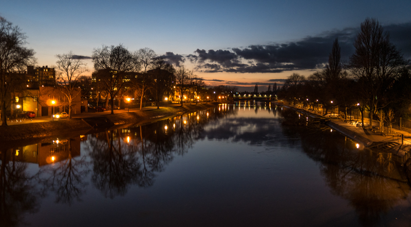 Dusk on the River Ouse