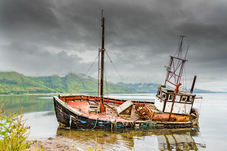Wreck of the Ardgour