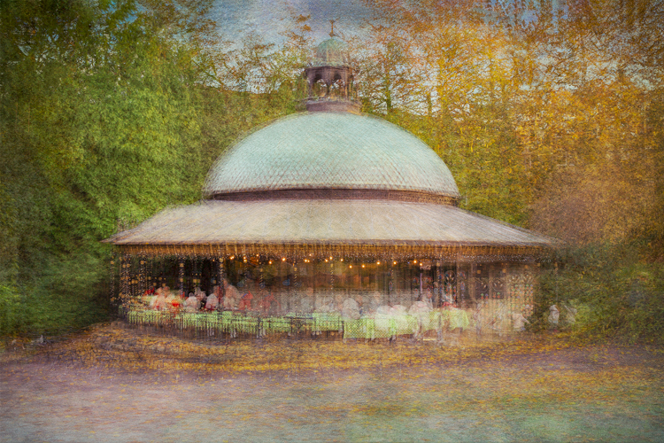 Tea in The Valley Gardens by Steve Oxley