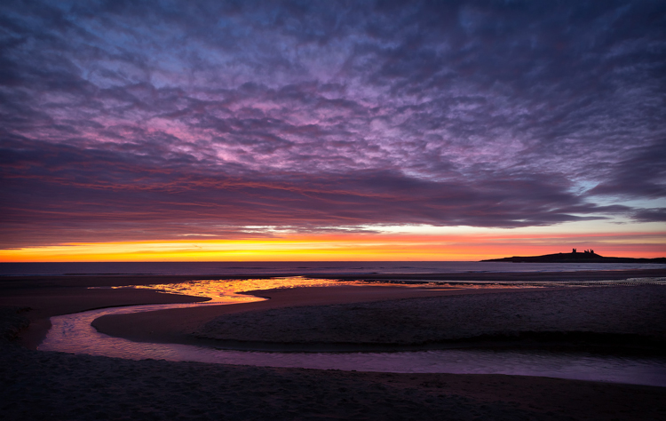 Embleton Bay at Dawn by Steve Oxley
