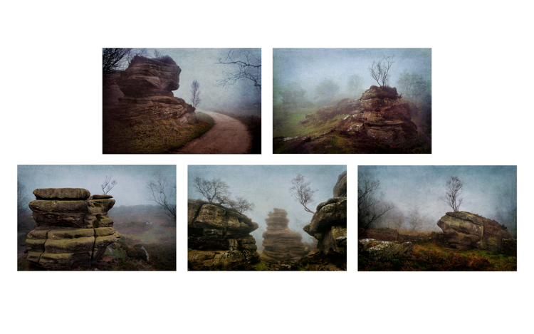 Brimham Mists by Steve Oxley
