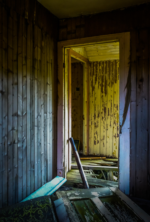 Abandoned House in Harris by Robin Hudson
