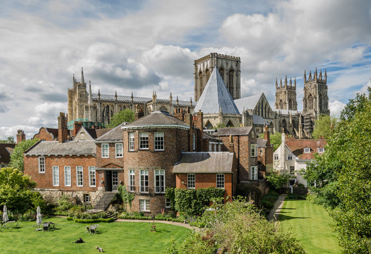 Grey's Court and York Minster by Graham Roberts