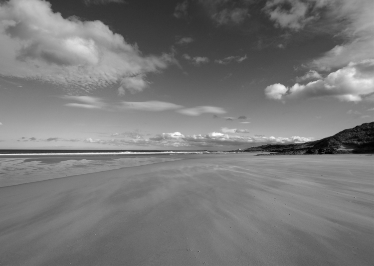 Budle Bay Northumberland by Laura Butler