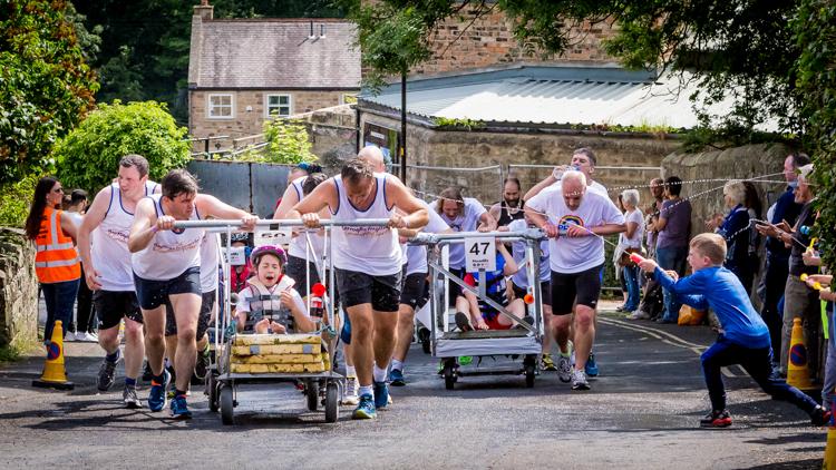 Knaresborough Bed Race by John Hagart