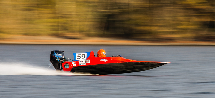 Coniston Powerboat Race by Ian Beck