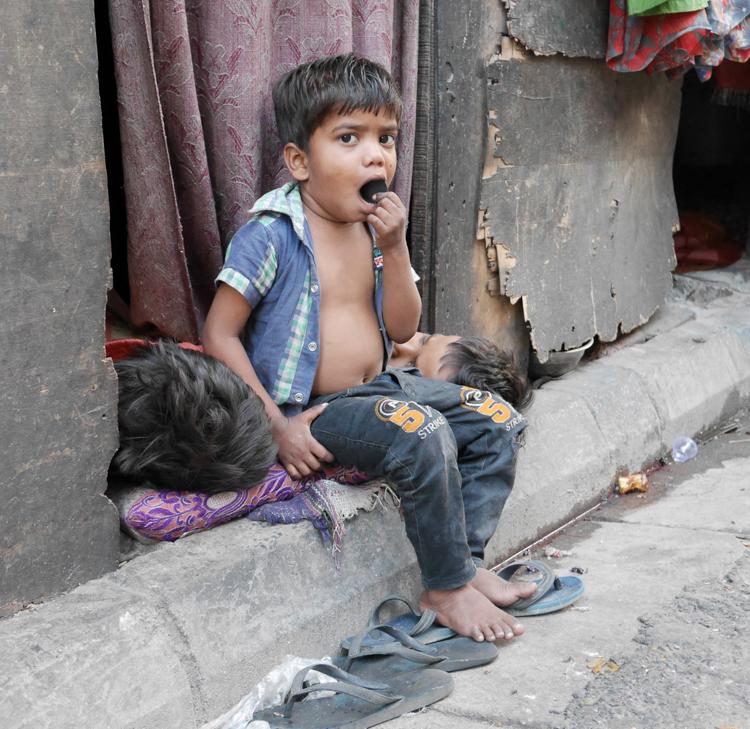 Waiting for breakfast, Kolkata by Patricia Noakes