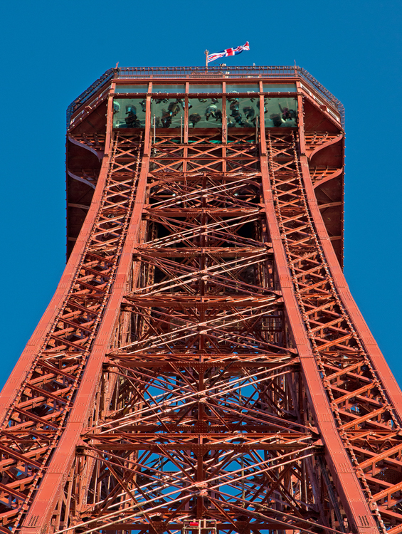 Blackpool Tower Superstructure by Mike Hudson