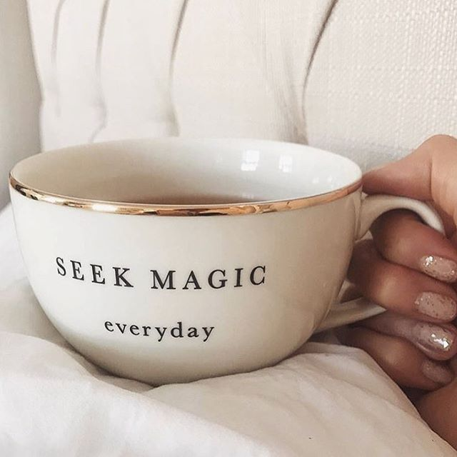 Good morning sweetie! You're my cup of tea ☕️ 🍂