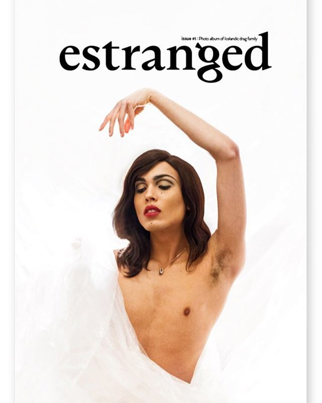 I couldn't be more proud!  The cover of our magazine.. www.estrangedmag.com (link in bio) 🖤