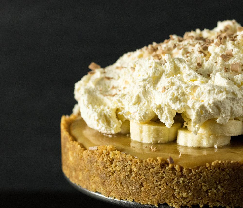 No Bake Banoffee Pie