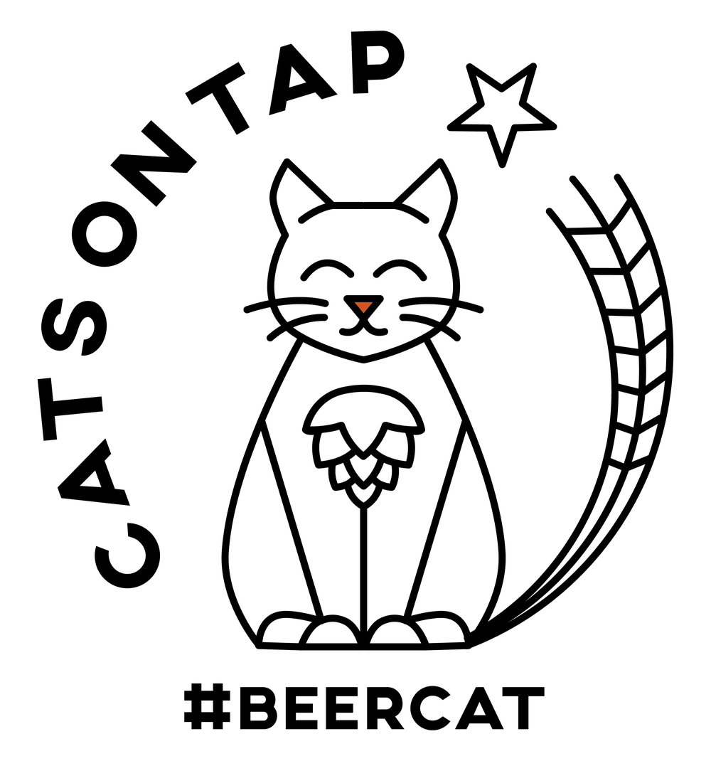 Our alternate #beercat logo to celebrate #BeerCatDay (December 18th)