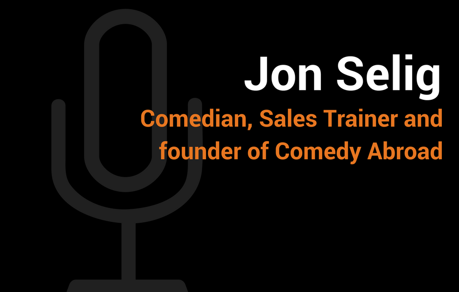 """Did this podcast with  Proforce Personnel  founder & Growth Story podcast host  Dave Inzlicht ! I talk both """"Comedy for Salespeople"""" and my passion project,  Comedy Abroad !"""