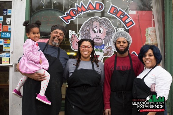 The Family featuring our tiny boss: Chef Corinne
