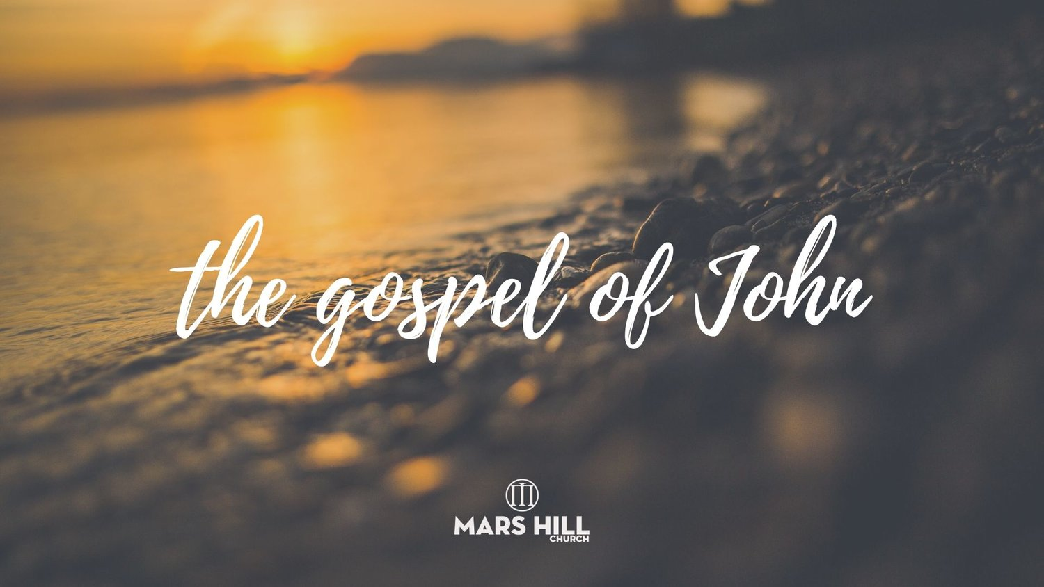 Gospel of John 5:1-15 — Mars Hill Church