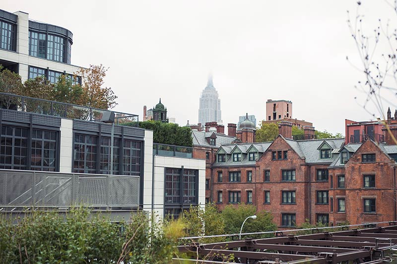 General Seminary as seen from the highline