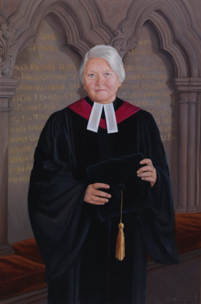 A portrait of Guenther hangs in the Refectory of The General Theological Seminary.
