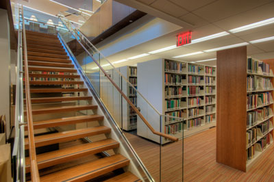Library Stairs