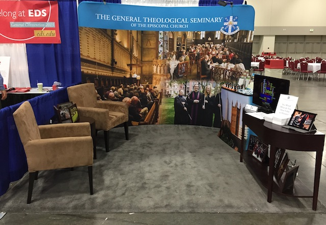 General Seminary's Booth at GenCon 2015